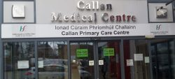 View of Entrance to Callan Medical Centre